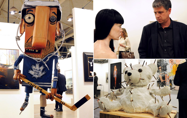 SLIDESHOW: First-world problems and million-dollar deals at the exclusive Art Toronto preview event