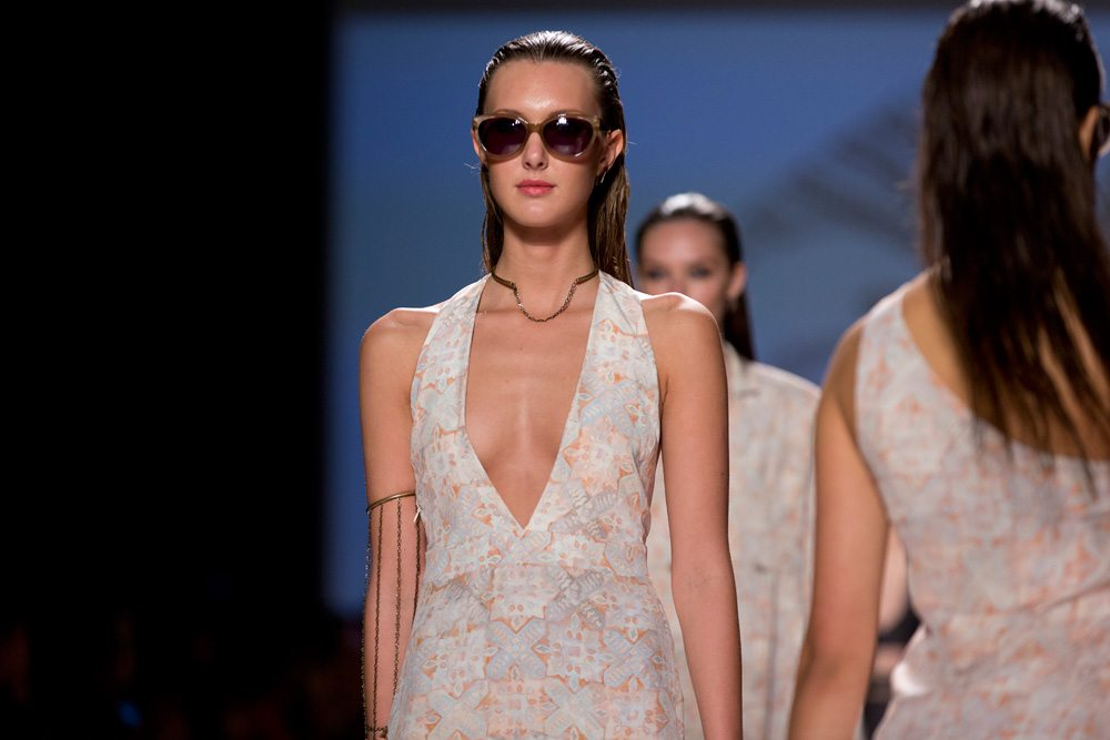 Toronto Fashion Week: Beaufille cements its cool-girl cred with a grommet-heavy spring 2014 show