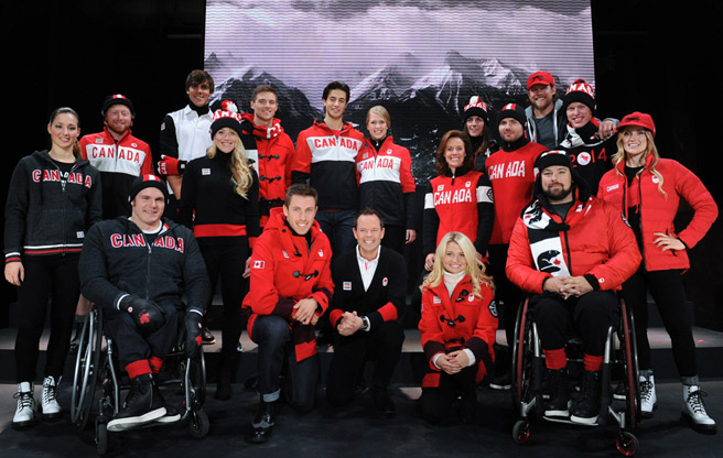 SLIDESHOW: Team Canada's Olympic uniforms by Hudson's Bay