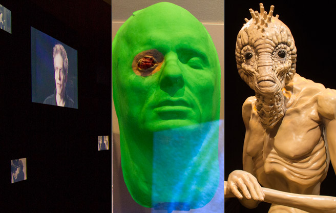 SLIDESHOW: A tour of the new David Cronenberg Exhibit at the TIFF Bell Lightbox