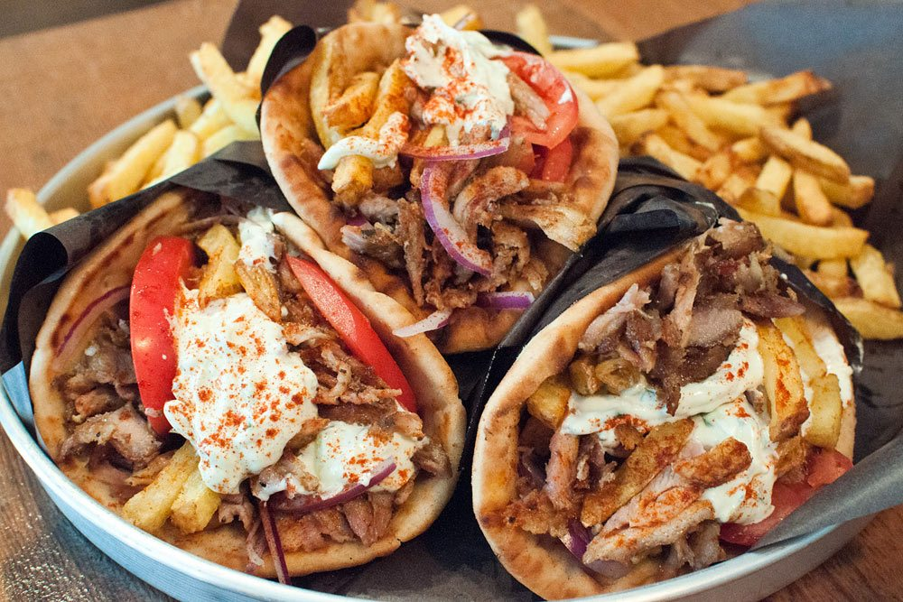 Introducing: It's All GRK, a new gyro shop on Queen West from a former Marben chef