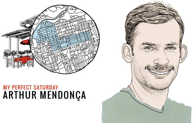 How fashion designer Arthur Mendonça would spend a perfect Saturday on the Danforth