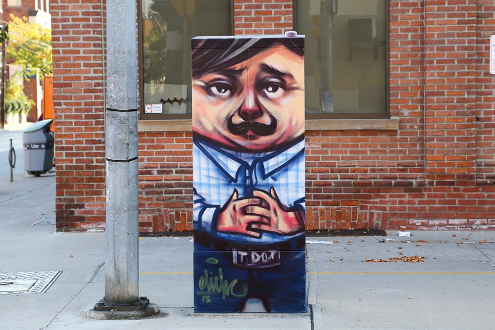 Slideshow: our favourite wacky and witty painted utility boxes across the city
