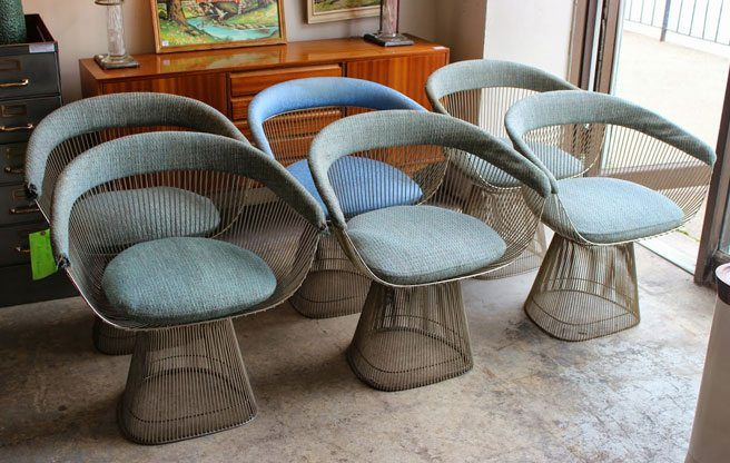 The Find: Platner chairs just like the ones that sparked a city hall furor