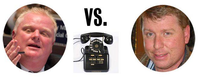 Rob Ford Versus Joe Warmington