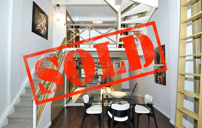 Sold: a three-level condo with a rooftop terrace in the Upper Beach for $620,000