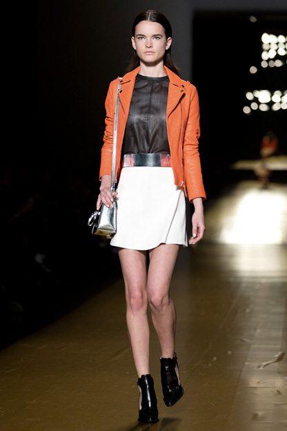 Toronto Fashion Week: covetable handbags and tight, tight pants at Mackage spring 2014