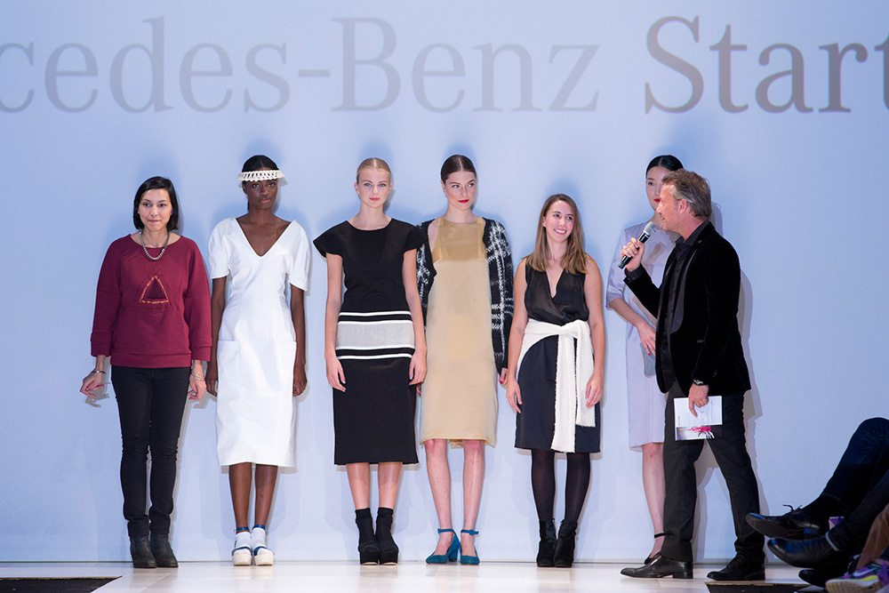 Toronto Fashion Week: Jeanne Beker and Bernadette Morra break the rules at Mercedes-Benz's finalists show