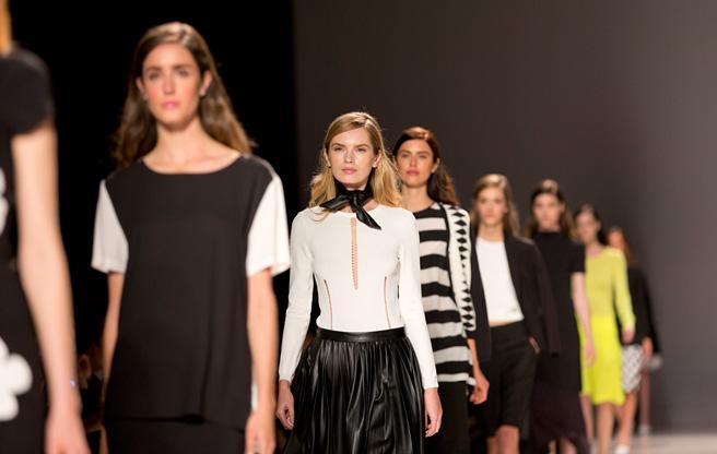 Toronto Fashion Week: Pink Tartan Spring 2014