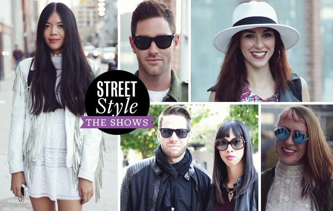 Street Style: The Shows