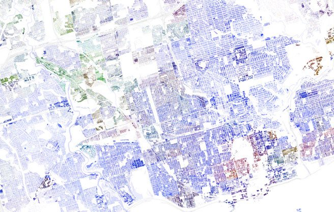 INFOGRAPHIC: A revealing, zoomable map of Toronto's racial distribution