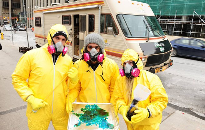Sad about Breaking Bad being over? Now you can visit Walt's mobile meth lab in Toronto
