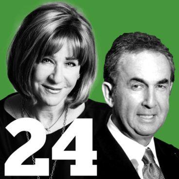 The 50 Most Influential People in Toronto: 24. Heather Reisman and Gerald Schwartz