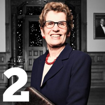 The 50 Most Influential People in Toronto: 1. Kathleen Wynne