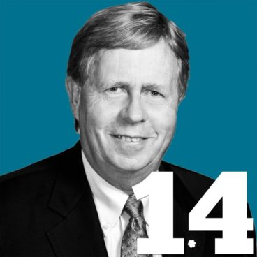 The 50 Most Influential People in Toronto: 14. Robert Prichard