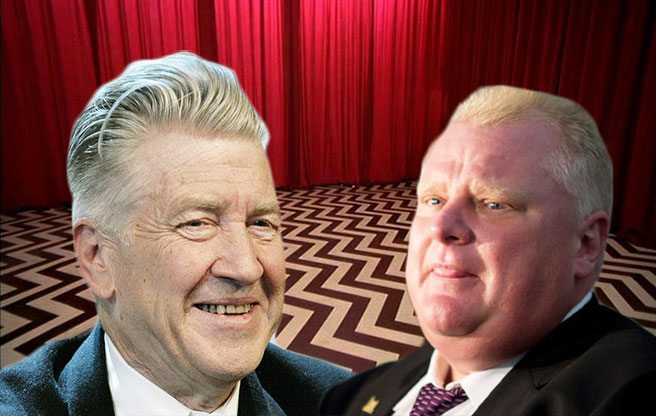 QUOTED: Legendarily dark film director David Lynch on the Rob Ford debacle