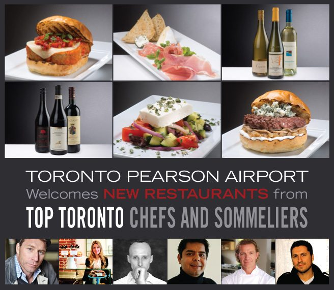 Toronto Pearson Welcomes New Restaurants from Top Toronto Chefs and Sommeliers [SPONSORED]