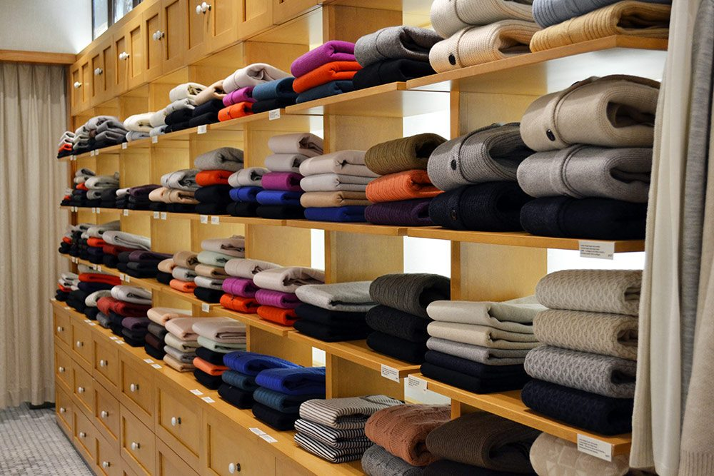 Store Guide: Montreal knitwear label Ça Va De Soi opens a Yorkville shop full of beautifully made sweaters