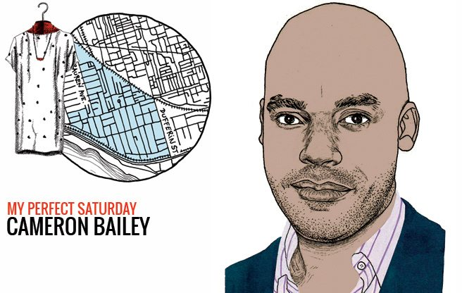 How Cameron Bailey, artistic director of TIFF would spend a perfect Saturday in Parkdale