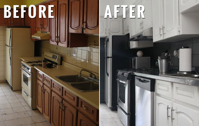 Before and After: 104 Edwin Avenue