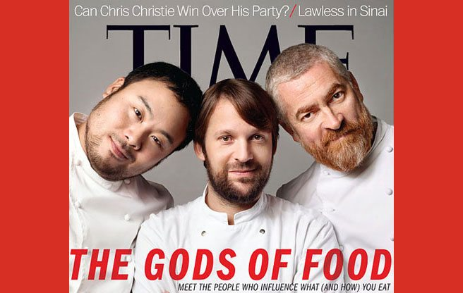 Quoted: a Time magazine editor on why female chefs don't qualify as gods of food