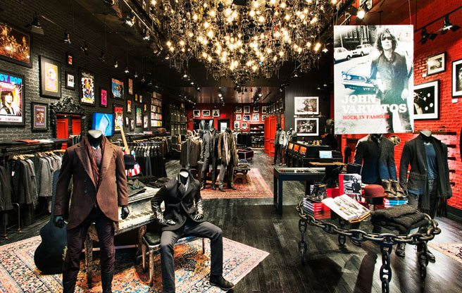 John Varvatos brings his high-end, rock-and-roll menswear to Yorkdale Shopping Centre