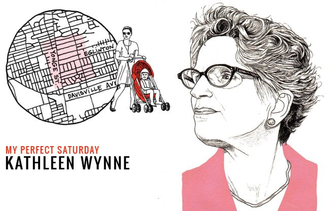 How Premier Kathleen Wynne would spend a perfect Saturday near Yonge and Eglinton