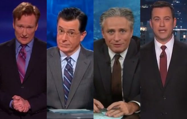 VIDEOS: Last night's best Rob Ford jokes from Stephen Colbert, Conan O'Brian and more