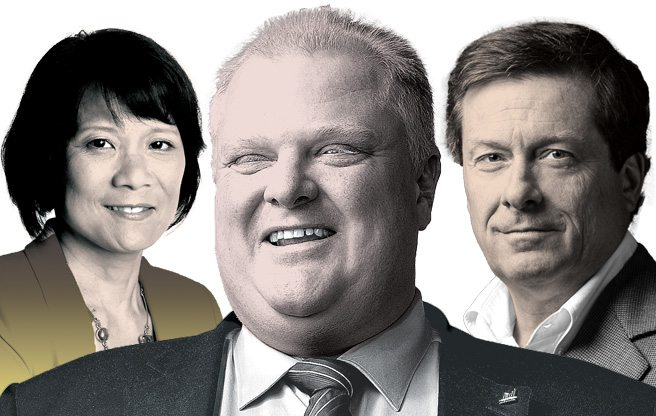 Mayor May Not: here are the odds of the seven top contenders in the next race for the Toronto mayor's office