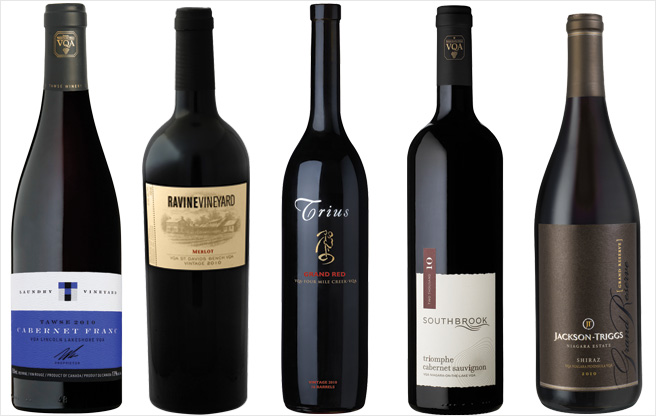 Five amazing bottles from Ontario's new crop of big, bold red wines