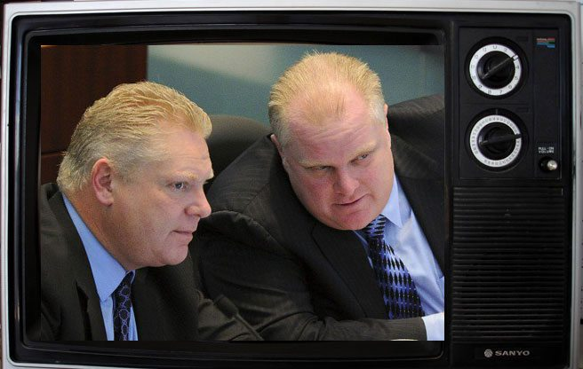 Sun News Network just gave Rob and Doug Ford their own television show