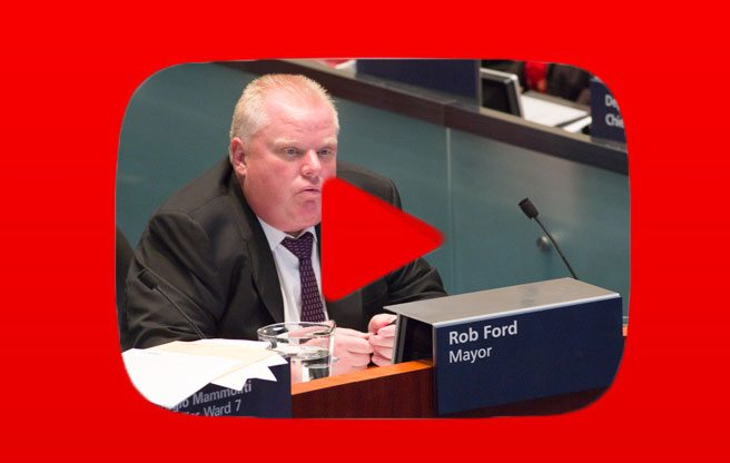Rob Ford was approached about starring in a reality TV show