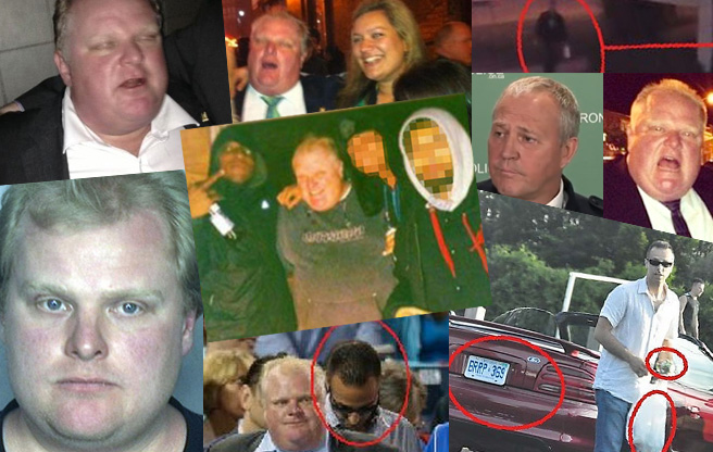 SLIDESHOW: the most iconic photos of the Rob Ford Crack Scandal