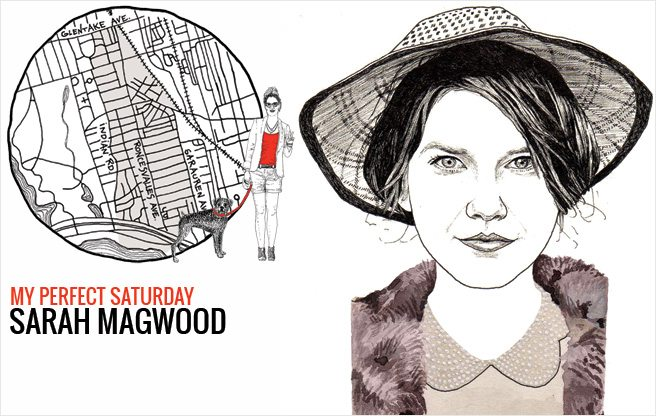 How Sarah Magwood, owner of Magwood Vintage spends a perfect Saturday in Roncesvalles