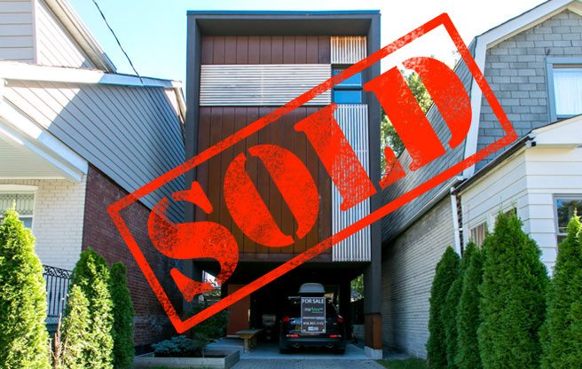 East York House Sold For