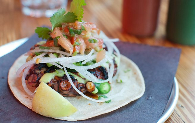 Introducing: Barrio Coreano, a Korean-inspired addition to the Playa Cabana taco chain