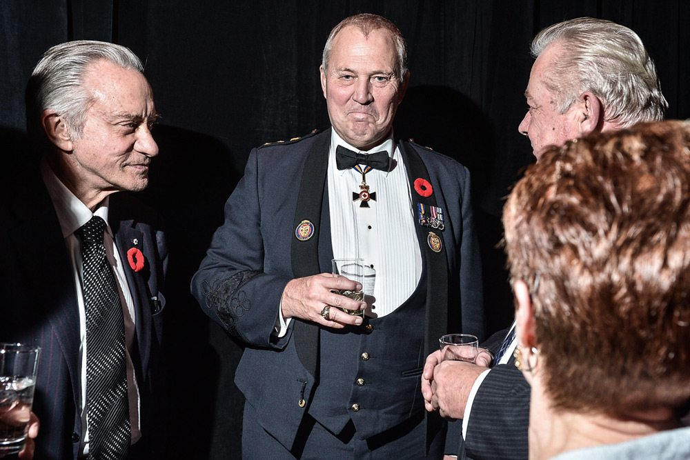 Party Pics: Laureen Harper replaces Stephen, and Bill Blair wants to arm wrestle at the True Patriot Love gala