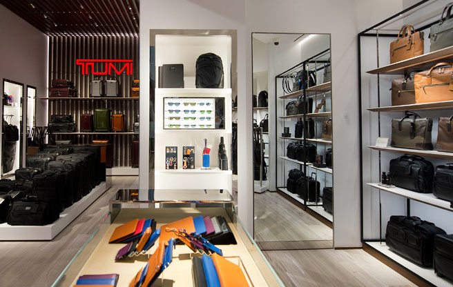 Tumi arrives at Yorkdale with indestructible luggage and sleek, functional leather accessories