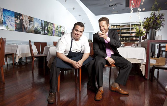 Splendido owners Victor Barry and Carlo Catallo are breaking up