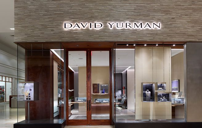 American jeweller David Yurman is now open at Yorkdale