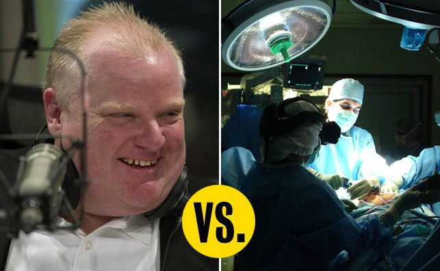 QUOTED: Prime-Minister-in-Waiting Rob Ford thinks public-funded healthcare is stupid