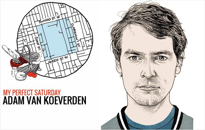 How Olympic kayaker Adam van Koeverden would spend a perfect Saturday in Trinity-Bellwoods