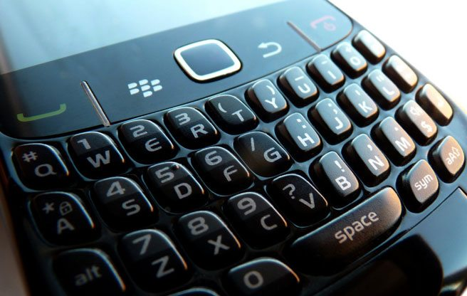 BlackBerry's new comeback plan? Stickers