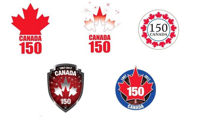 Proposed logos for Canada's sesquicentennial look like they were designed in the nineties