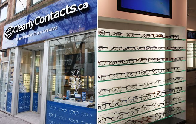 ClearlyContacts.ca opens a brick-and-mortar store on Queen West