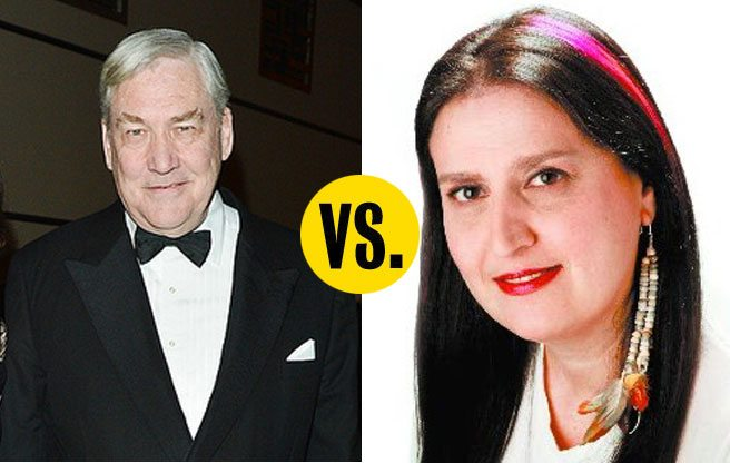 The feud between Conrad Black and Rosie DiManno is bad for newspaper readers, great for the dictionary industry