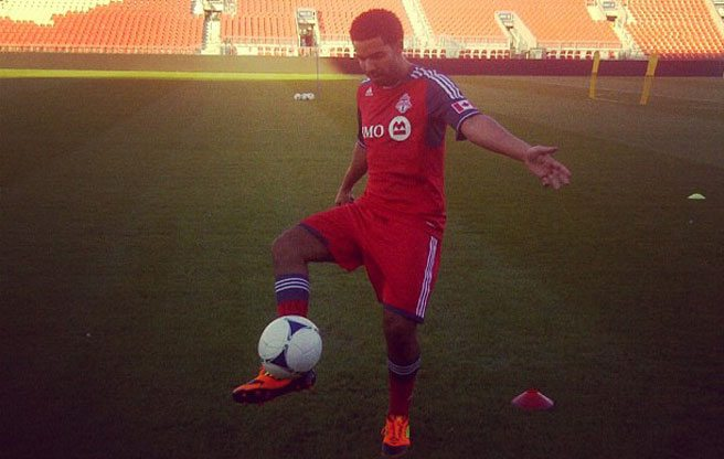 U.K. soccer star Jermain Defoe is joining Toronto FC because Drake told him to