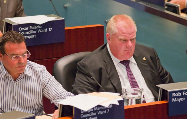 Rob Ford almost apologizes for accusing all councillors except Mammoliti of being corrupt