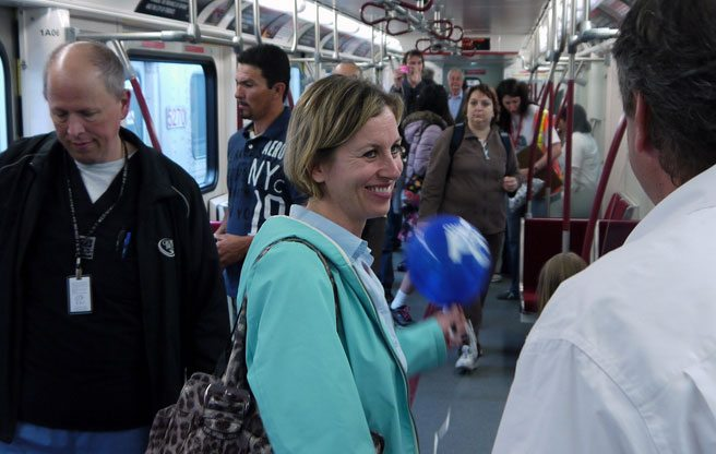 Karen Stintz is giving up her place at the head of the TTC