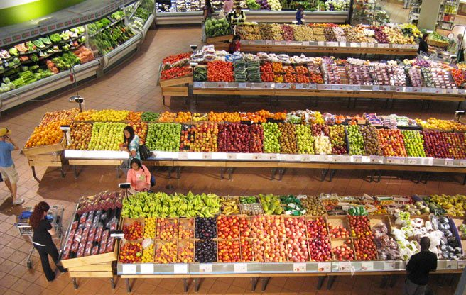 Superb news for 2014: groceries will probably cost less